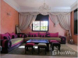 Marrakech Tensift Al Haouz Sidi Bou Ot Belle villa de quatre chambres A LOUER VIDE. 4 卧室 别墅 租