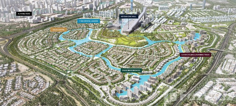 Master Plan of District One Residences (G+8) - Photo 1