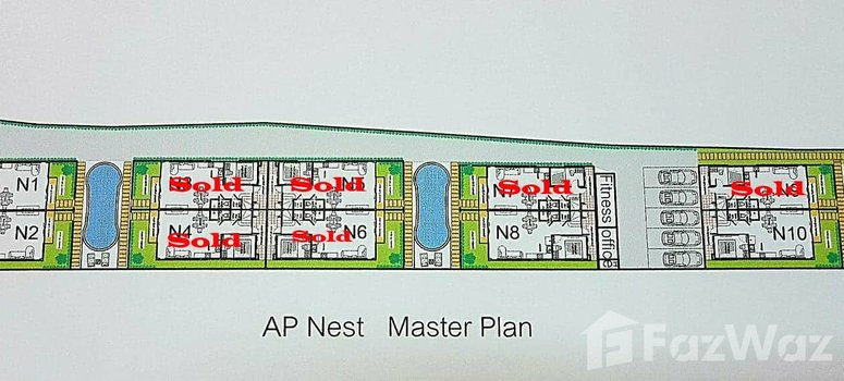 Master Plan of AP Nest By AP Grand Residence - Photo 1