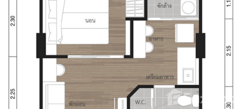 Master Plan of Lumpini Place Rama4-Ratchadaphisek - Photo 1