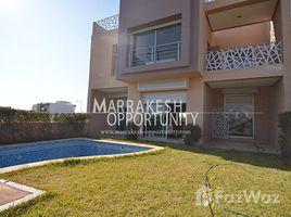 3 Bedrooms Villa for rent in Na Machouar Kasba, Marrakech Tensift Al Haouz villa de style moderne en location sur Golf