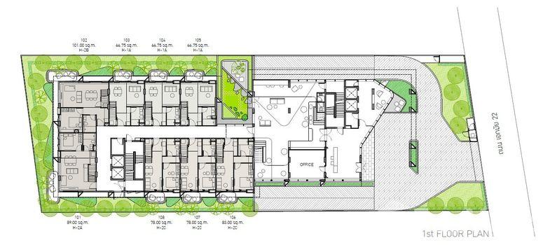 Master Plan of HOLME Ekkamai 22 - Photo 1