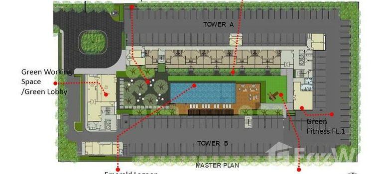 Master Plan of iCondo Green Space Sukhumvit 77 - Photo 2