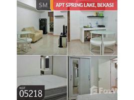 Квартира, 2 спальни на продажу в Pulo Aceh, Aceh Apartemen Spring Lake Tower Basella Lantai 12 Summarecon Bekasi