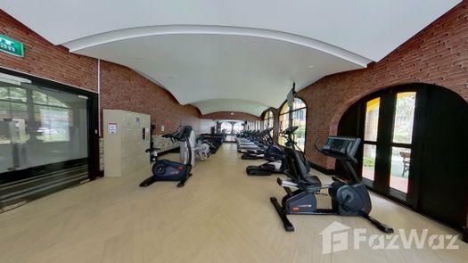 3D Walkthrough of the Communal Gym at Venetian Signature Condo Resort Pattaya