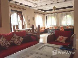 Marrakech Tensift Al Haouz Na Annakhil Villa de charme à louer meublée, dans une résidence avec piscine à 5 km du centre ville de Marrakech, route de Fès 3 卧室 别墅 租